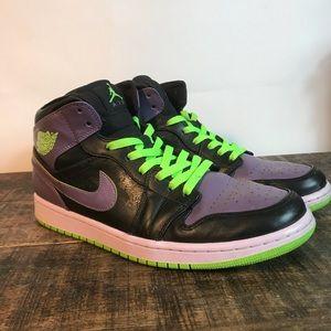 85087766fb13 Jordan Shoes - Air Jordan 1 Retro Night Vision Joker. GLOW